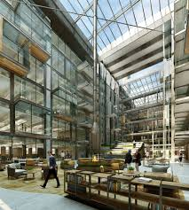 outdoor office space. The Office Space Will Also Feature A Roof Garden Called Sky (not Be Confused With Other Garden) Outdoor Meeting \u201cboxes\u201d For Those U