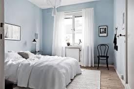 Light Blue Room Design Bedroom With Light Blue Walls Spaces Blue Bedroom Decor