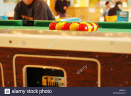 Setting Up A Pool Table Pool Table With Ball Set Up Stock Photo Royalty Free Image