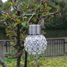 Round Outdoor Hanging Lights Us 3 6 21 Off Led Solar Lights Outdoor Garden Rotatable Camping Lamp Hanging Led Round Ball Lights Motion Sensor Lamp Lampada Solar In Solar Lamps