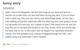 Funny Story Funny Stories When I Was In Kindergarten We Had Stick Delectable Funny Istory