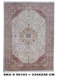 persian silk rug 334x248 cm or 10 11 x 8