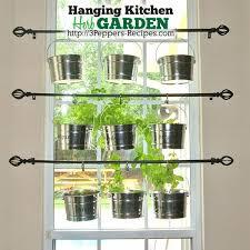 indoor herb garden ideas. Herb Kitchen Hanging Garden Rods, Container Gardening, Design Indoor Ideas