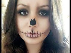 easy skull makeup tutorial you