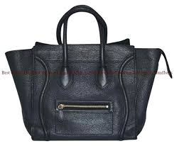best céline designer replica luggage mini antracite pebbled leather tote replica handbags