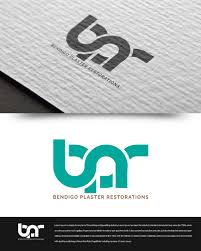 Graphic Design Bendigo Elegant Playful Logo Design For Bendigo Plaster