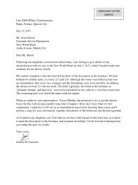 Complaint Letter Sample Docx With Complaint Letter Sample Poor