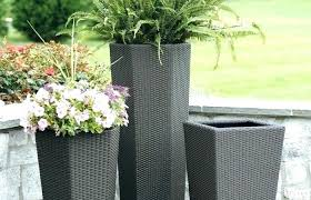 outdoor patio and backyard medium size patio backyard flower pots big lots planters large outdoor metal