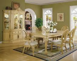Antique living room furniture sets Vintage Modernfurniture Collection Antique White Formal Dining Room With Carving Details