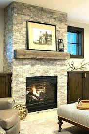 natural stone fireplace surround tile post mantels