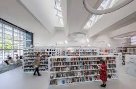 library lighting. Library Interior Daylighting Lighting