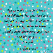 Thank You So Much Friends Quotes Writings By Chetna Bhatia