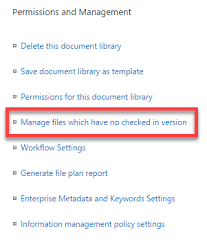 Library Checkout Template Do You Really Need To Check Out A Document In Sharepoint