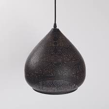 Black Metal Pendant Light Shade Details About Moroccan Metal Pendant Ceiling Light Black