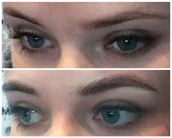 microblading is semi permanent makeup that lasts up to 18 months a form of tattooing microblading can be used to improve eyebrow definition