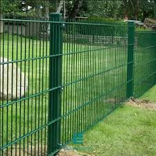double wire panel fencing 2d pvc coated
