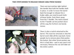 Maybe you would like to learn more about one of these? Remove Parking Brake Cable From Handle Yotatech Forums
