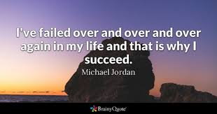 Success And Failure Quotes Best Failed Quotes BrainyQuote