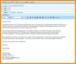 Email Resume Subject Line A Good Resume Example