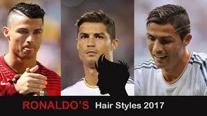 Christiano Ronaldo Hair Style cristiano ronaldo hairstyles 2017 youtube 5431 by wearticles.com