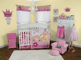 storybook princess 3pc crib bedding set