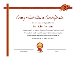 Congratulations Certificates Templates 5 Beautiful Ms Word Certificate Templates Office Templates