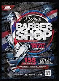 barber flyer 24 barbershop flyer psd templates free premium designyep
