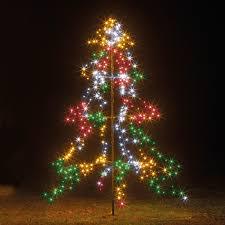 240 Multifunction Led Christmas Tree Lights Multi Coloured Kaemingk 1 35m Light Up Led Outdoor Christmas Tree