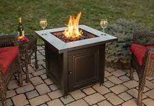 Blue Rhino Fire Table Bristol 50k Btu Lp Propane 30 Inch Patio Deck Firepit For Sale Online
