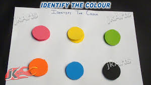 Diy Identify The Color Game Learning Game For Kids Jk Easy