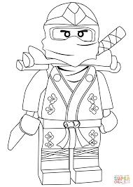 Small Picture Ninjago Lloyd Green Ninja ZX coloring page Free Printable