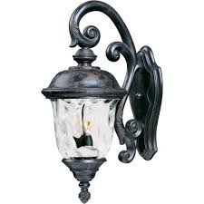 carriage house vx 3 light outdoor wall lantern 40497wgob