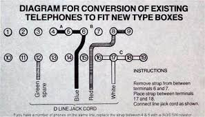 telephones uk converting old telephones converting 700 series telephones · 700 series wiring instructions