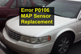 MAP sensor replacement, P0106, Cadillac Seville - VOTD - YouTube