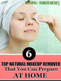 top 6 natural makeup remover that you can prepare at home