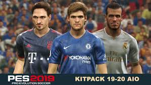 PES 2019 Kitpack New Season 2019/2020 AIO - Micano4u | PES Patch ...