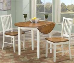 drop leaf kitchen table sets fabric dining chairs brown wooden bench high gloss finish wood material