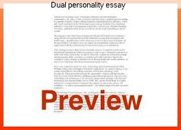 dual personality essay custom paper academic writing service dual personality essay dual diagnosis essay as word doc doc