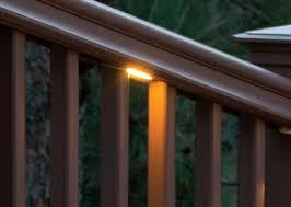 deck accent lighting. TimberTech Deck Under-Rail Lights - View 3 Accent Lighting