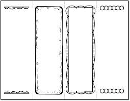 Free Bookmark Templates Bookmark Templates To Print Free Printable Designs Colouring