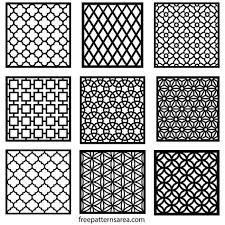 Repeating Patterns Beauteous Geometric Motifs Repeating Pattern Vectors Pattern Pinterest