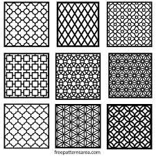 Repeating Patterns Beauteous Geometric Motifs Repeating Pattern Vectors Pattern Pinterest