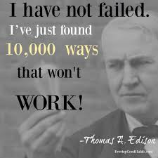 Famous Quotes By Edison Thomas Edison Success Quote Quotes On Success Amp Failure From 12