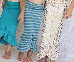 Mermaid Skirt Pattern Enchanting 48minute Mermaid Skirt Tutorial Girl Inspired