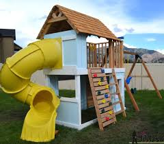 the perfect solution to keep the kids playing outside for hours check out that fun