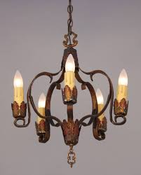 spanish revival lighting. Antique Five Light Polychrome Spanish Revival Chandelier Circa Lyrics Bob Az Tree Address Chandeliers Earrings Archived Lighting