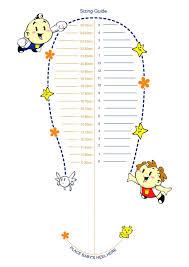 Kids Shoe Size Chart Printable Printable Foot Measure Printall