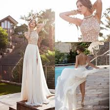 Backless Beach Wedding Dresses For Sale