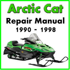 arctic cat snowmobile service repair manual ma pay for 1990 1998 arctic cat snowmobile service repair manual