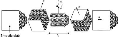 schematic drawing of the twist grain boundary tgb a phase 13 schematic drawing of the twist grain boundary tgb a phase